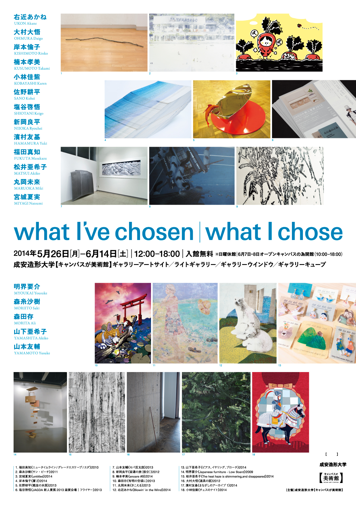what I've chosen|what I chose
